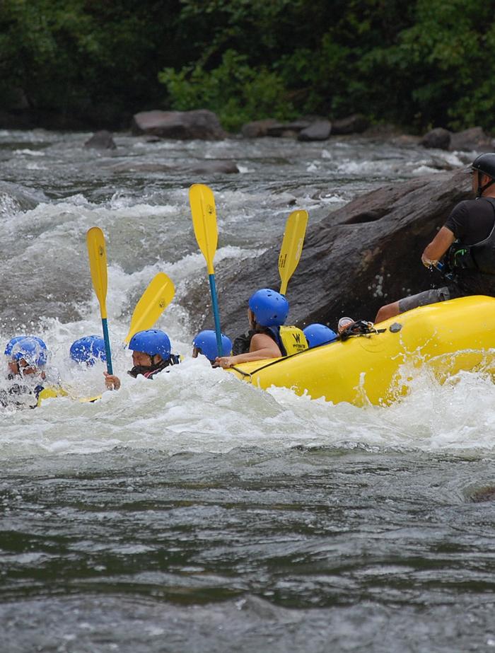 Canoa, kayak, rafting sul torrente Vermigliana e Noce