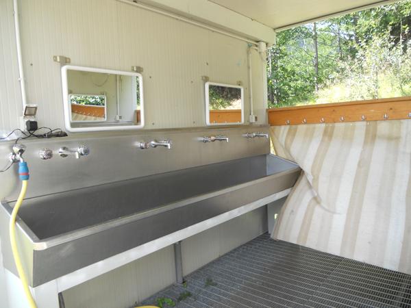 Bagni comuni: lavabo