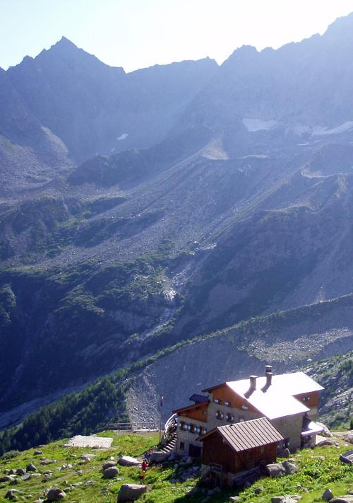 Rifugio Denza sulla Presanella, Trentino