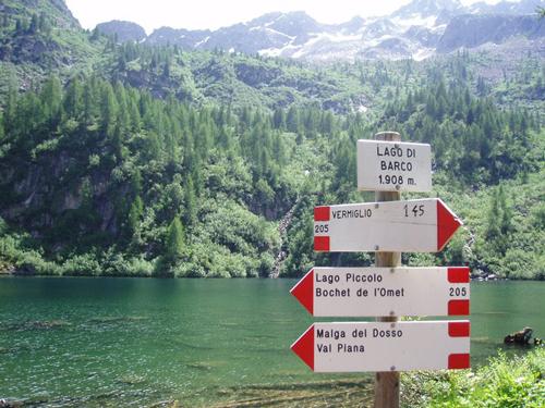 Turno associazioni: escursioni nelle vicinanze (Lago di Barco)